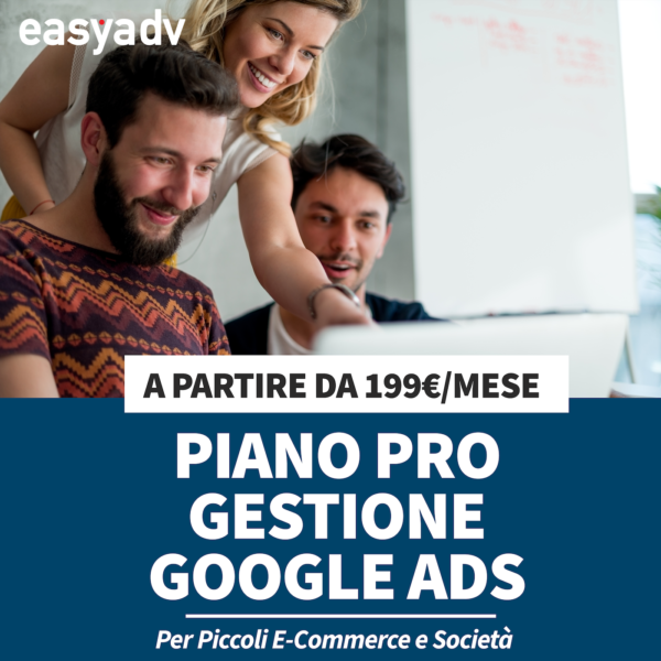 piano gestione pro google ads
