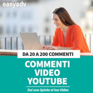comprare commenti youtube nuovo